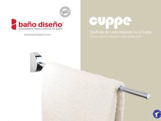 Colección CUPPE - accesorios de baño  - Baño Diseño:  de estilo  de Baño Diseño
