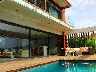 Zen Bodrum Modern style balcony, porch & terrace by ARTHUR&MILLER Modern