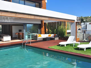 Zen Bodrum Balcon, Veranda & Terrasse modernes par ARTHUR&MILLER Moderne