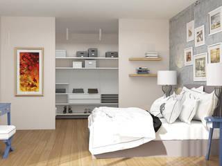 Novo Maison Bodrum Modern Yatak Odası ARTHUR&MILLER Modern