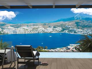 Balcon, Veranda & Terrasse modernes par ARTHUR&MILLER Moderne