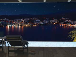 Modern style balcony, porch & terrace by ARTHUR&MILLER Modern