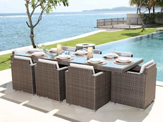 Outdoor dining : modern  by Jusi Colour , Modern