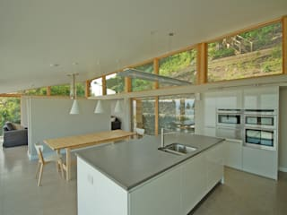 Deepstone:  Kitchen by Simon Winstanley Architects