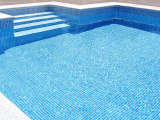 RENOLIT ALKORPLAN Mediterranean style pool