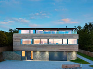 Taigh Sonas: modern Houses by Simon Winstanley Architects