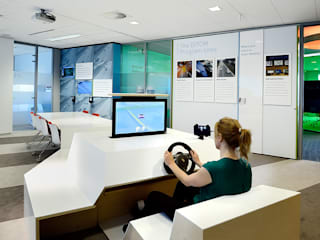 Simulator :  Exhibitieruimten door thisisjane
