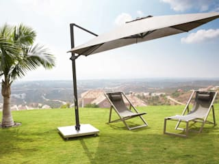 Antigua Cantilever Parasol:   by Jusi Colour