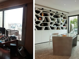 Appartement 4 pièces - 100m2:  de style  par Créateurs d'interieur - Nantes