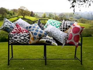 Ikat cushions:   by punica Ltd.