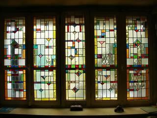 Baie vitrée par VITRAIL - Atelier du Faubourg Moderne