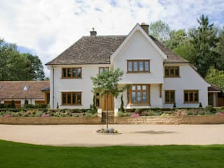 Front Elevation: country Houses by Wildblood Macdonald