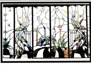 Vitrail aux paons par VITRAIL - Atelier du Faubourg Moderne