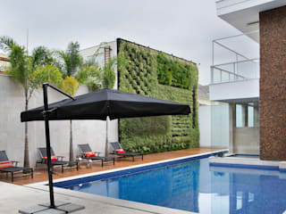 Jardin de style  par Arquitetura e Interior