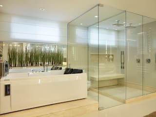 Studio Claudia Pimenta e Patricia Franco Decoração de Interiores Modern style bathrooms