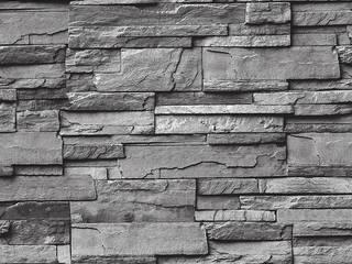 DEKOROS – GRİ TAŞ DESENLİ DUVAR KAĞITLARI: modern tarz Duvar & Zemin