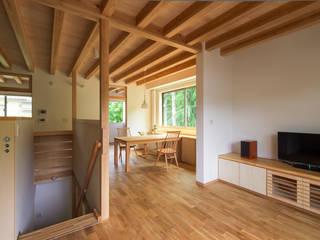 青木昌則建築研究所 Scandinavian style living room
