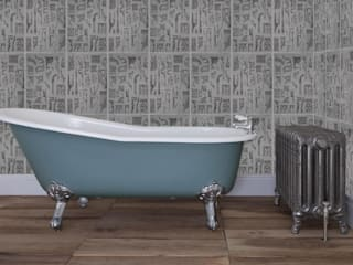 Single High Slipper Cast Iron Bath UKAA | UK Architectural Antiques BathroomBathtubs & showers