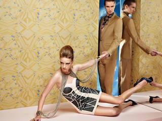 Neue Tapetenmuster 2015: modern  von Tapeten der 70er,Modern