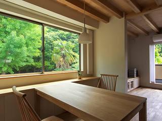 青木昌則建築研究所 Scandinavian style dining room