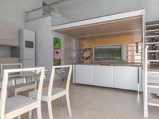 Salon moderne par GINO SPERA ARCHITETTO Moderne