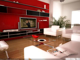 GINO SPERA ARCHITETTO Living room