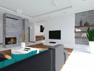 Ruang Keluarga oleh Lidia Sarad, Minimalis