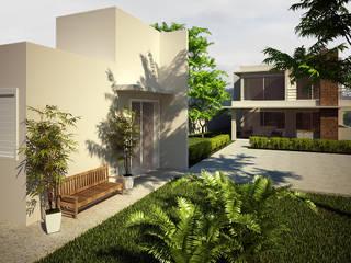 Дома в стиле модерн от Flávia Brandão - arquitetura, interiores e obras Модерн