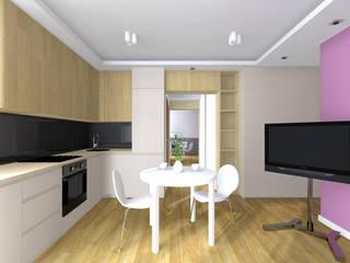Столовая комната в стиле модерн от Lidia Sarad Модерн