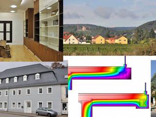 Tätigkeitsquerschnitt Moderne Häuser von Architekturbüro Hißler Modern