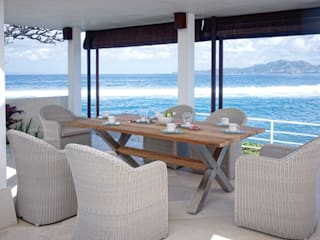 Outdoor dining : rustic  by Jusi Colour , Rustic