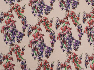 Trailing Flowers Fabric:   by Occipinti