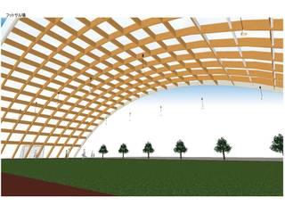 フットサルコート オリジナルなスタジアム の IROHA ARCHITECTS DESIGN OFFICE オリジナル