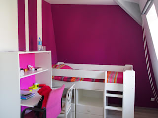 agence MGA architecte DPLG Nursery/kid's room
