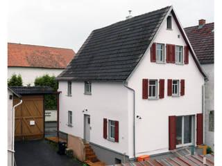 Hof- und Gartenansicht (nachher):   von architektur WEIDE