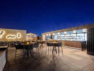 Ritz Carlton Moskau Terrasse destilat Design Studio GmbH Moderner Balkon, Veranda & Terrasse