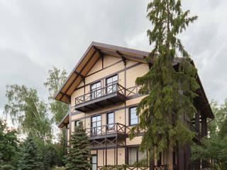 Резиденция в Горках 8: Дома в . Автор – дизайн-студия ZE-MOOV