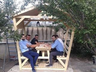 Garden Mobilya – Kamelyalı Piknik Masaları:  tarz