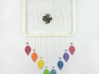 """Attrape-rêves """"Spiderweb"""" par Savousepate Éclectique"""