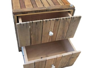 de Wyki Möbelmodulsysteme Rústico Madera Acabado en madera