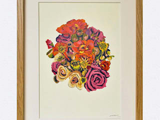 British Bouquet Limited Edition Print:   by Occipinti
