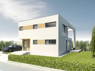 Deutsches Traumhaus 2014 - Unsere Stadtvilla Alicante Moderne Häuser von Helma Eigenheimbau AG Modern