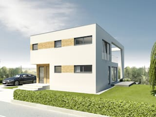 Modern Houses by Helma Eigenheimbau AG Modern