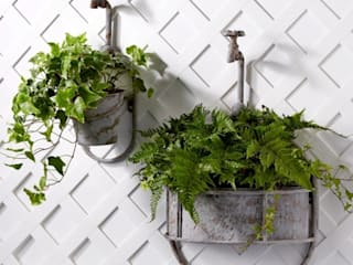 Hanging Vintage Garden Tap Planter: classic  by ELLA JAMES, Classic