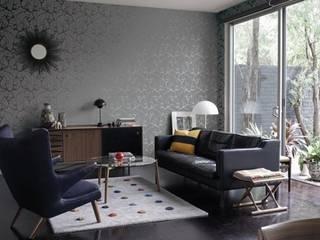 4 Duvar İthal Duvar Kağıtları & Parke Livings modernos: Ideas, imágenes y decoración