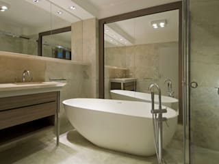 Estudio Sespede Arquitectos Modern bathroom