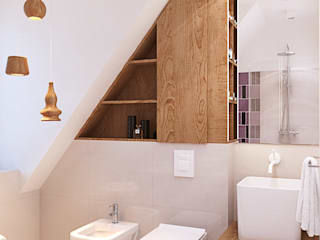 Scandinavian style bathroom by Finchstudio Scandinavian