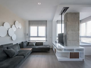 Living room by LLIBERÓS SALVADOR Arquitectos, Minimalist