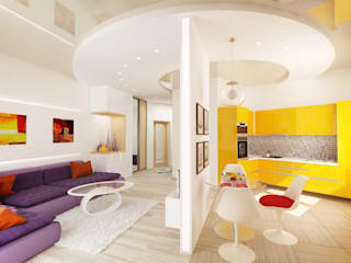 Rustem Urazmetov Minimalist living room