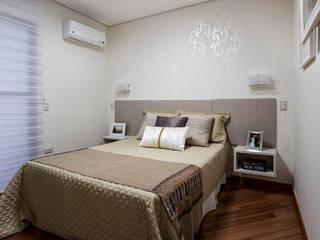 Apartamento Chácara Klabin (SP) Amanda Pinheiro Design de interiores Quartos modernos